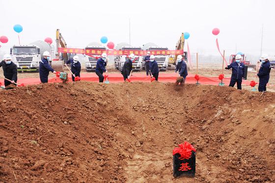 河南贝博智能产业园二期工程奠基!